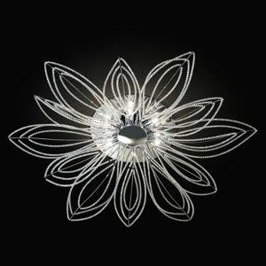 Stropné svietidlo Girasole v tvare kvetu 98 cm