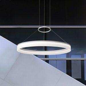 Moderná závesná LED lampa CIRC 60cm