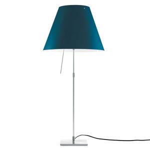 Luceplan Luceplan Costanza stolová lampa D13 hliník/modrá