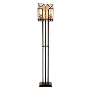 V štýle Tiffany navrhnutá stojaca lampa Madison