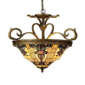 Štýl Tiffany – závesná lampa Anthia 2
