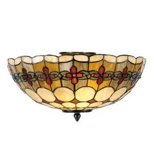 Nury – stropné svietidlo v štýle Tiffany