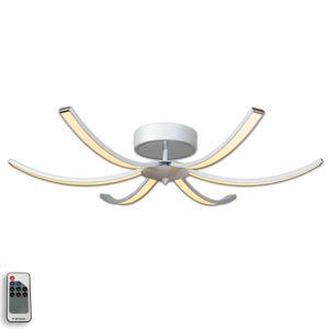 Lis Poland Stropné LED svietidlo Largo 91cm, 6-pl. hliníkové