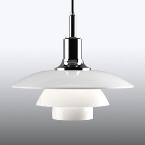 Louis Poulsen Louis Poulsen PH 3/2 – závesná lampa, chróm