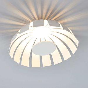 Biele dizajnové stropné LED svietidlo Loto 33 cm