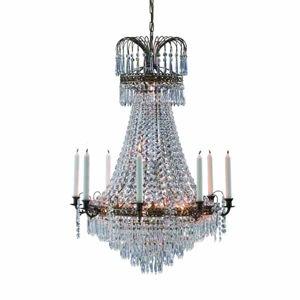 Markslöjd Veľkolepý sviečkový visiaci luster Lacko 66cm