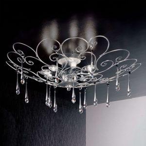 Dokonale tvarované stropné svietidlo DAMASCO