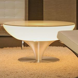 Svietiaci stôl Lounge Table LED Pro Accu V 45 cm