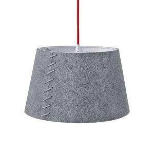 Zo sivej plsti – LED závesné svietidlo Alice 30cm