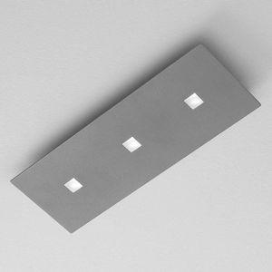 ICONE Isi stropné LED svietidlo v decentnej sivej