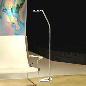 Milan 3-LED, moderná stojaca lampa 1-pl. 124,3cm