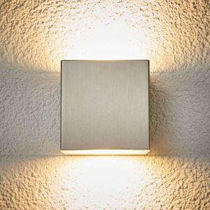 Vonkajšie nástenné LED Jana ušľachtilá oceľ 10x10