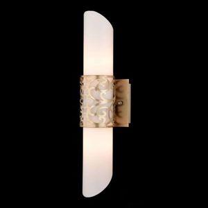 Rúrkové sklenené nástenné svietidlo Venera – zlaté