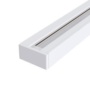 Maytoni 1-fázová koľajnica Track v bielej, 100cm