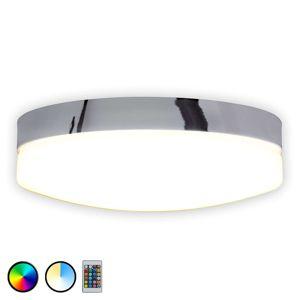 Stropné LED svietidlo Paríž s diaľkovým ovládaním