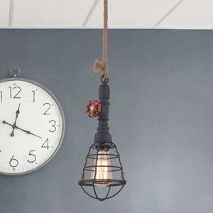 Závesná lampa v priemyselnom dizajne