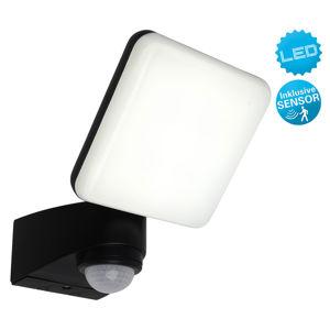 Näve LED vonkajšia nástenná lampa Jaro, snímač/1 svetlo