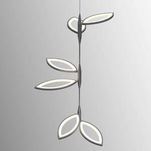 OLIGO Flavia LED závesné svietidlo chrómové matné