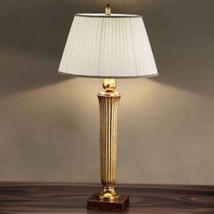 Pôsobivá stojaca lampa JANNI, teplý zlatý tón