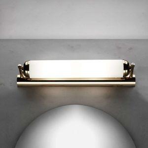 Nástenné svietidlo Elida, 2-plameňové v zlate