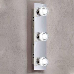 Troj-plameňové nástenné LED svietidlo Gilian