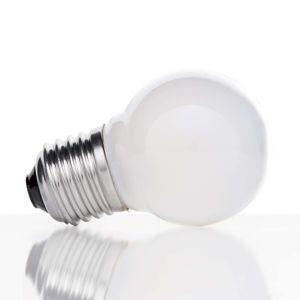 E27 4W 827 kvapková LED žiarovka vnútri matná