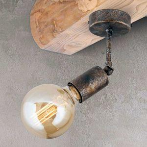 Pohyblivé stropné svietidlo Rati, vintage vzhľad