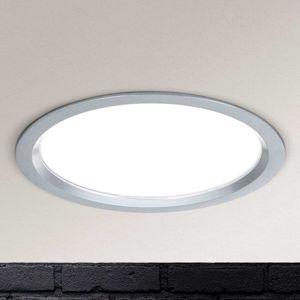 LED svietidlo Spock stmievateľné Ø 17 cm striebro