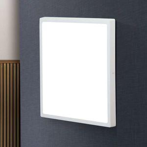 Hranaté stropné LED svietidlo LEro 40x40 cm