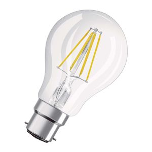 OSRAM LED žiarovka B22d Superstar Fil. 827/7,5W