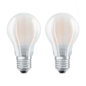 OSRAM LED žiarovka E27 7W teplá biela sada 2ks