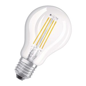 OSRAM LED žiarovka E27 6W Classic P 2700K číra