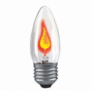 Paulmann E27 blikajúca sviečková žiarovka 3 W číra