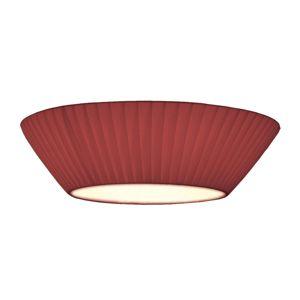 Stropné svietidlo Emma 50cm vínovočervené