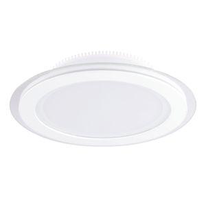 Pamalux Zapustené LED svietidlo Kuro s IP44 v bielej