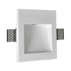 Pamalux Zapustené nástenné LED svetlo Zimant zo sadry