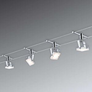 Paulmann Meta LED lankový systém kompletný, 4-pl.
