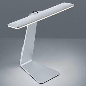 Stolná LED lampa Herold dobíjateľná titán