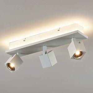 Stropné LED svietidlo Taly, 3 biele svetlá