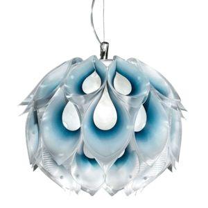 Slamp Flora S – dizajnérska závesná lampa, modrá