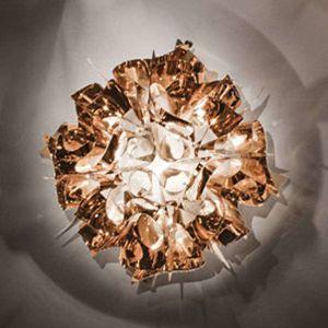 Slamp Veli meď dizajnérske stropné svietidlo 53 cm