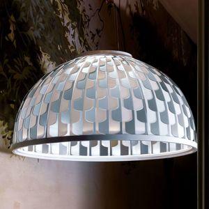 Slamp Dome LED závesná lampa, Ø 55 cm, modrá
