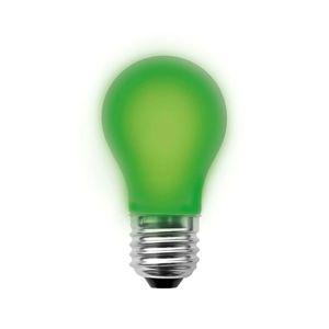 E27 2W LED žiarovka, zelená, stmievateľná