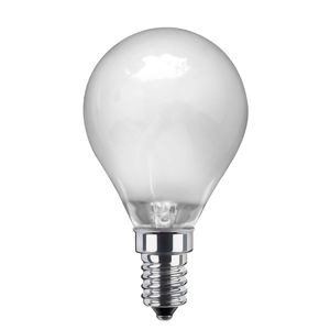 E14 3,5W 926 LED kvapková žiarovka matná teplá