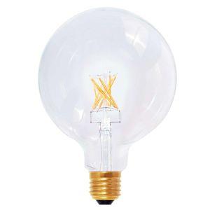 E27 8W 922 LED žiarovka Globe G125 vzhľad vlákien