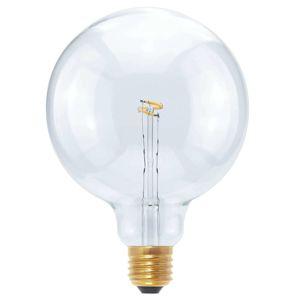 LED Globe Curved Point G125 E27 2,7W teplá biela