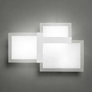 Triquadro piccola dizajnové nástenné svietidlo