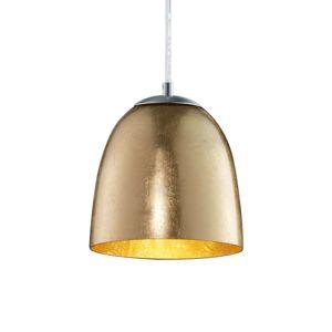 Malá závesná lampa Ontario zo skla
