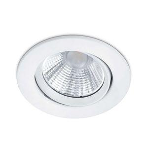 Okrúhle zapustené LED svetlo Pamir matná biela