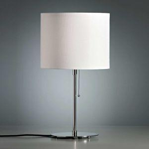 TECNOLUMEN Walter Schnepel, stolná lampa biela